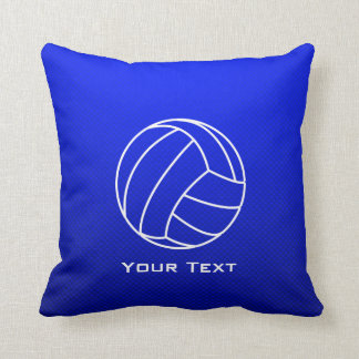 Deep Blue Volleyball Cushion
