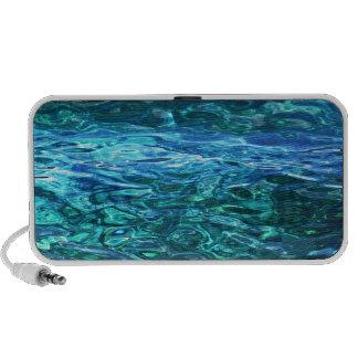 Deep blue waters PC speakers