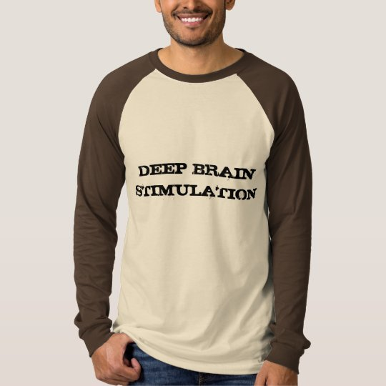 Deep Brain Stimulation Mens Raglan T-Shirt