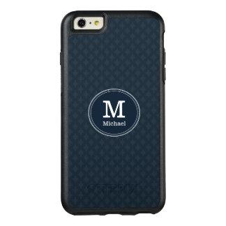 Deep Classic Navy Custom Monogram OtterBox iPhone 6/6s Plus Case