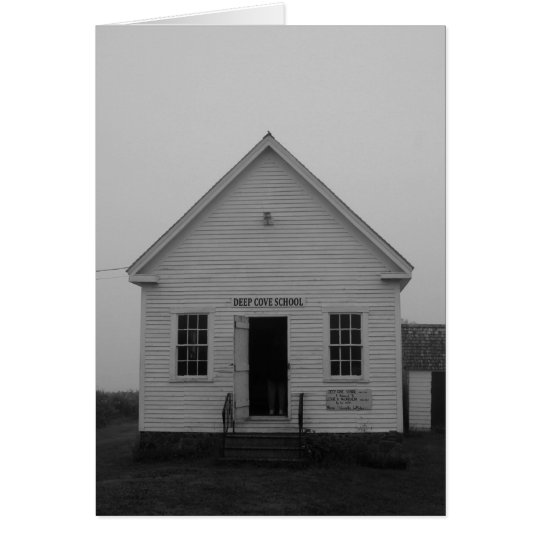 Deep Cove School House, Grand Manan Card