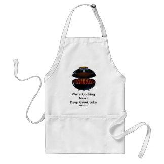 Deep Creek Lake We're Cooking Now Standard Apron