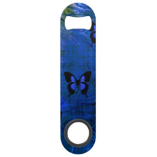 Deep dark blue and black fancy butterflies