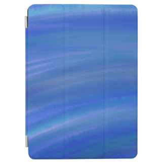 "Deep dark blue ocean watercolor Apple 9.7"" iPad iPad Pro Cover"