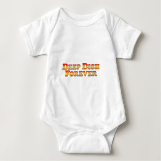 Deep Dish Forever - Clothes Only Baby Bodysuit