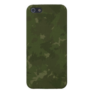 Deep Forest Camouflage Cover For iPhone 5/5S