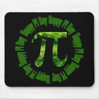 Deep Forest Pi Day Gifts and Tees Mouse Pads