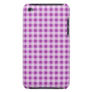 Deep Fuchsia Gingham; Checkered iPod Touch Case