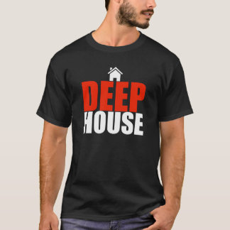 deep house dj style music design t-shirt