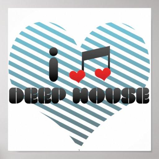 Deep House fan Posters