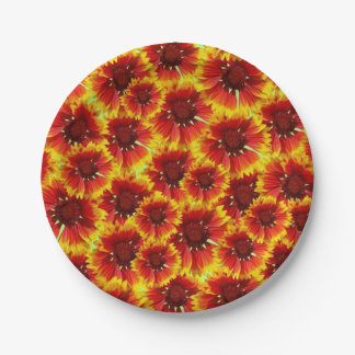 Deep In Marigolds DOD Party Paper Plates