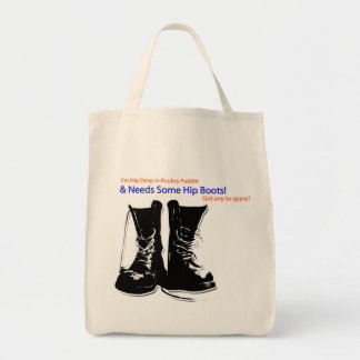 """Deep in Poultry Puddin!"" Game Tote Bag"