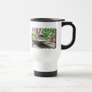 Deep in The Forest Stainless Steel Travel Mug