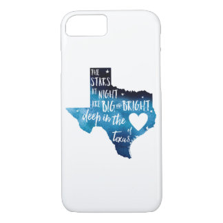 Deep in The Heart of TX Harvey iPhone case