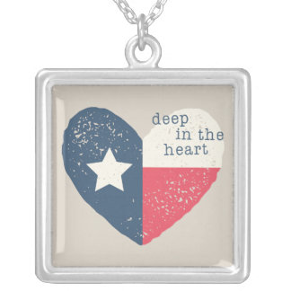 Deep in the Heart Texas Necklace