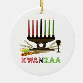 Deep In Tradition Kwanzaa Holiday Ornament
