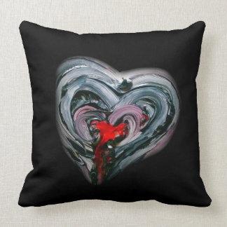 """Deep Love dark Throw Pillow 20"""" x 20"""""""