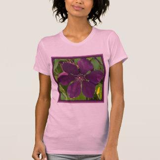 Deep Magenta Clematis T-shirts