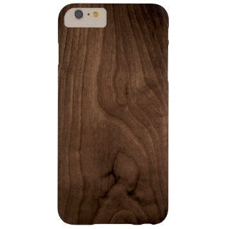 Deep Mahogany Wood Grain iPhone 6 Case Barely There iPhone 6 Plus Case