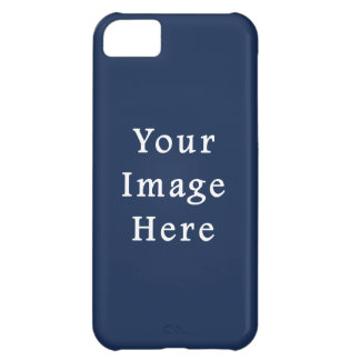 Deep Monaco Blue Color Trend Blank Template Case For iPhone 5C