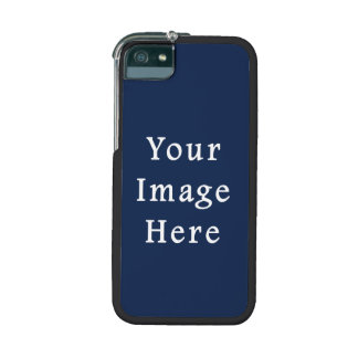 Deep Monaco Blue Color Trend Blank Template iPhone 5/5S Cases