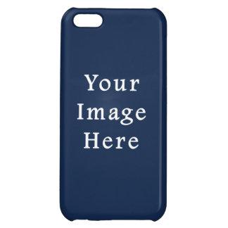 Deep Monaco Blue Color Trend Blank Template iPhone 5C Cases