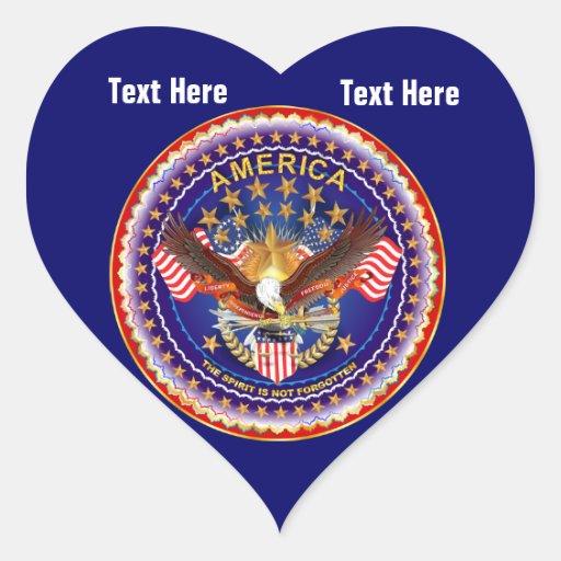 Deep Navy Blue Heart Sticker