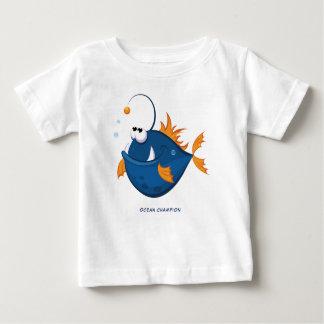 Deep Ocean Angler Fish Baby T-Shirt