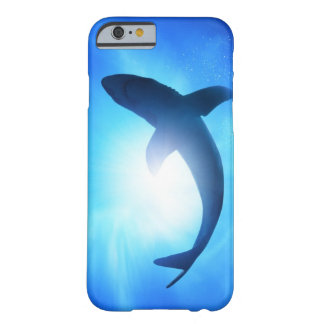 Deep Ocean Shark Silhouette Barely There iPhone 6 Case