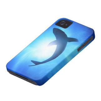 Deep Ocean Shark Silhouette iPhone 4 Covers