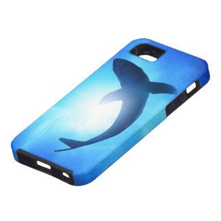 Deep Ocean Shark Silhouette iPhone 5 Cover