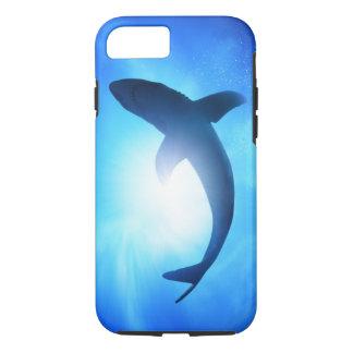Deep Ocean Shark Silhouette iPhone 8/7 Case