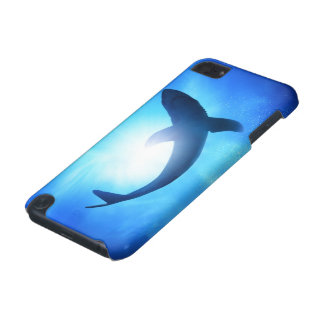 Deep Ocean Shark Silhouette iPod Touch (5th Generation) Cases