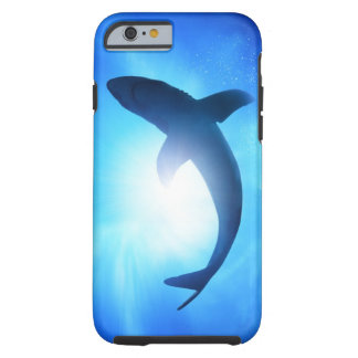 Deep Ocean Shark Silhouette Tough iPhone 6 Case