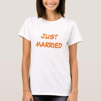 Deep Orange Silk  Wedding T-Shirt