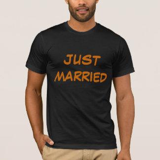 Deep Orange Wedding T-Shirt