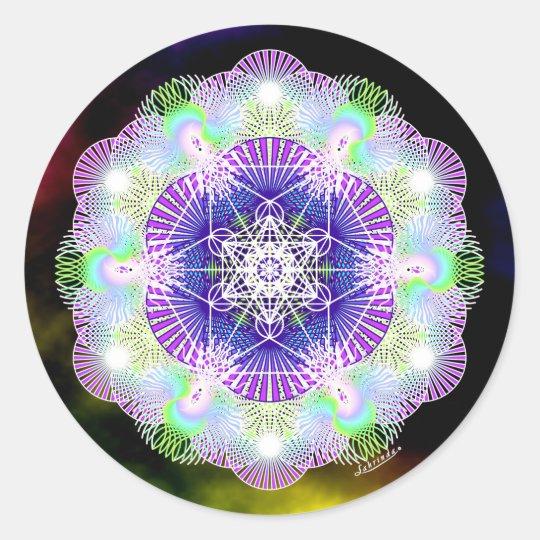 Deep Peace 2 Classic Round Sticker