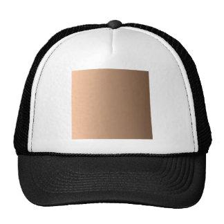 Deep Peach to Coffee Vertical Gradient Hats