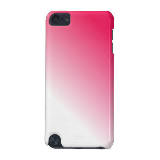 Deep Pink White Ombre iPod Touch 5G Cases
