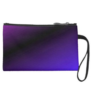 Deep Purple Art Wistlet Bag