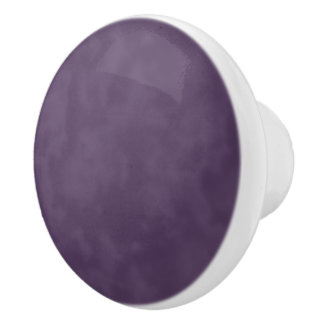 Deep Purple Ceramic Knob