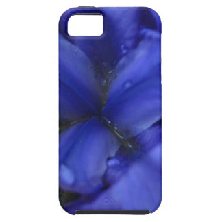 Deep Purple Iris with Water Drops iPhone 5 Cover