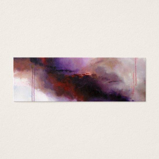 Deep Purple Modern Abstract (Kimberly Turnbull Art Mini