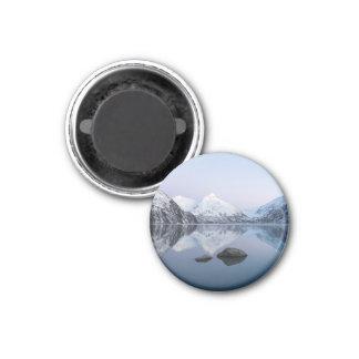 Deep Purple Portage Lake Magnet