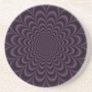 Deep Purple Succulent Coaster