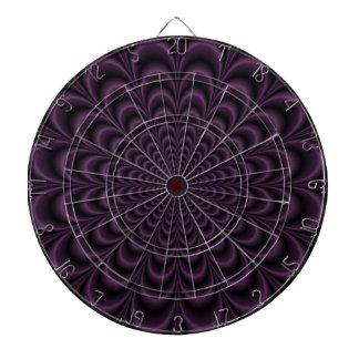 Deep Purple Succulent Dartboard