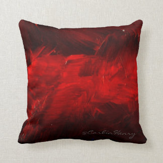 Deep Red Decorative Pillow