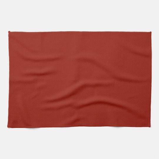 Deep Red Kitchen Towels