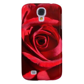 Deep Red Rose Samsung Galaxy S4 Case
