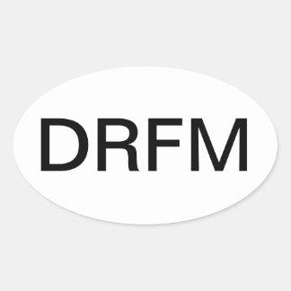 Deep River Friends Meeting Oval Sticker
